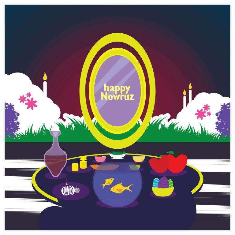 Frohes Nowruz