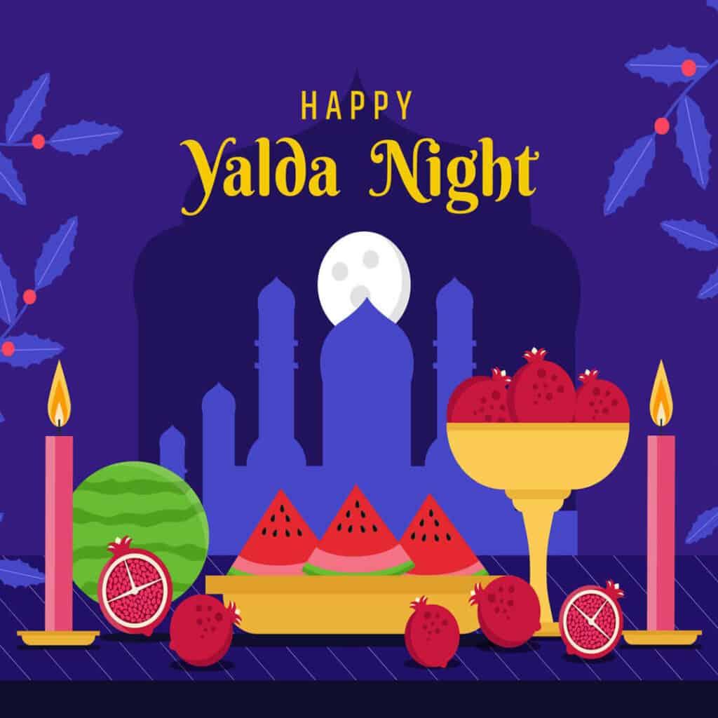Orient Kontor wünscht eine frohe Yalda-Nacht