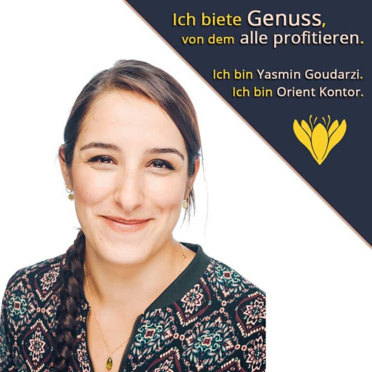 Vorstellung Inhaberin Yasmin Goudarzi