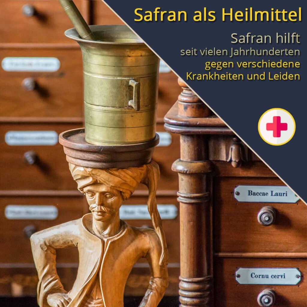 Safran als Heilmittel