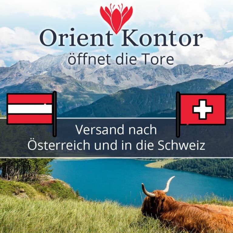 Flagge Österreich und Schweiz Versand