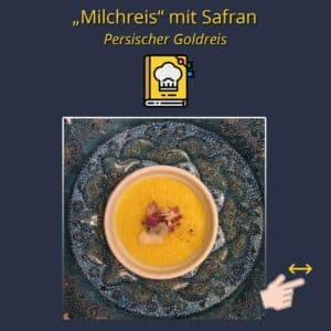 Milchreis mit Safran
